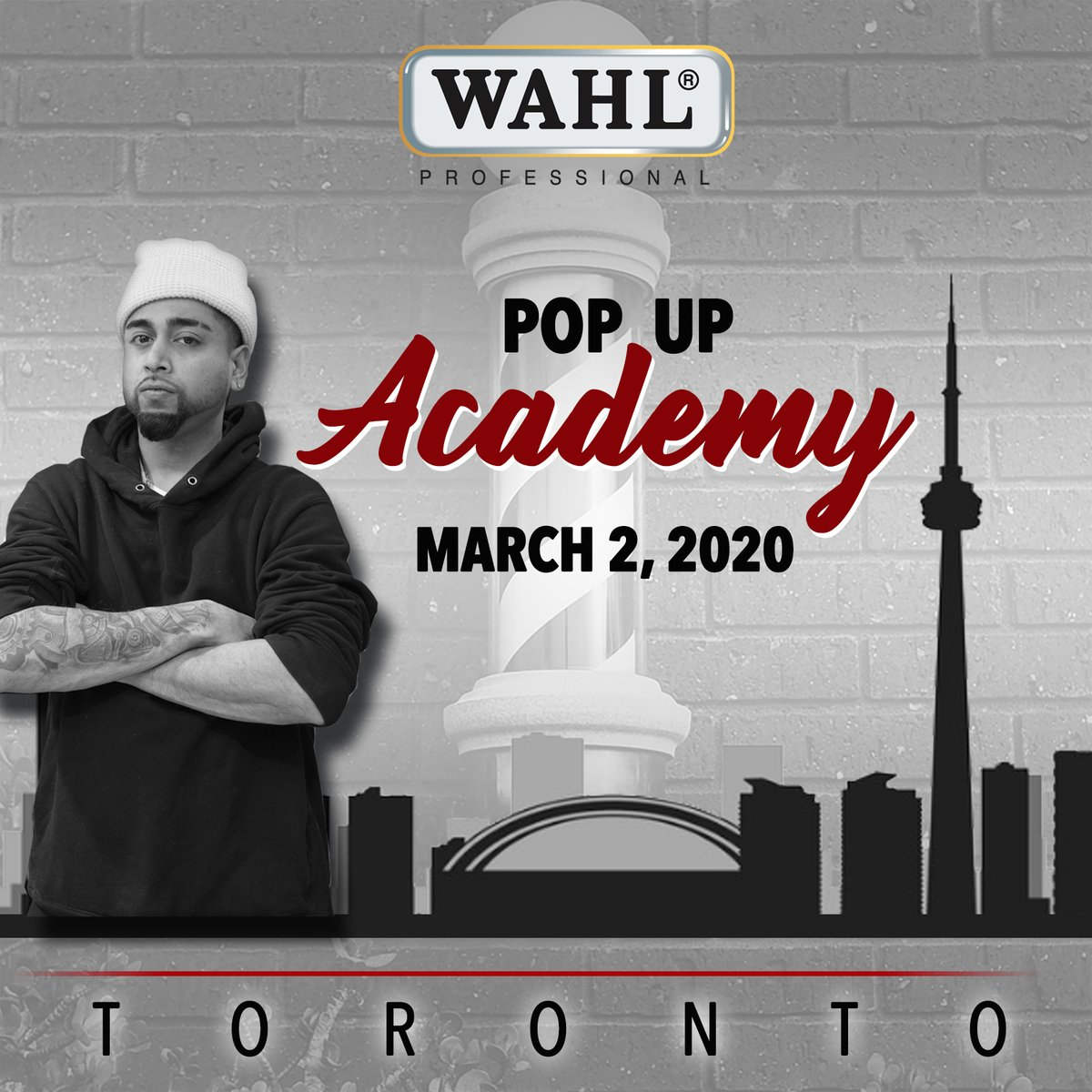 We are dropping our 1st ever @WahlofFame Pop Up Academy in Canada on March 2nd, 2020! Come see the 10x award winning Barber Shawn Barbz! Don't wait, get your spot now: https://bit.ly/31jWOoj   #WahlProCanada #WahlCanada #WahlCanadaPopUp #TorontoBarbers #GTABarbers #Eventbritepic.twitter.com/JMvTyMXYTH