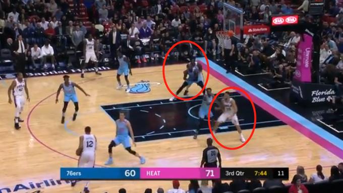 【影片】一個回合看透76人!西門和大帝同時在低位要球單打,這還怎麼打?-黑特籃球-NBA新聞影音圖片分享社區