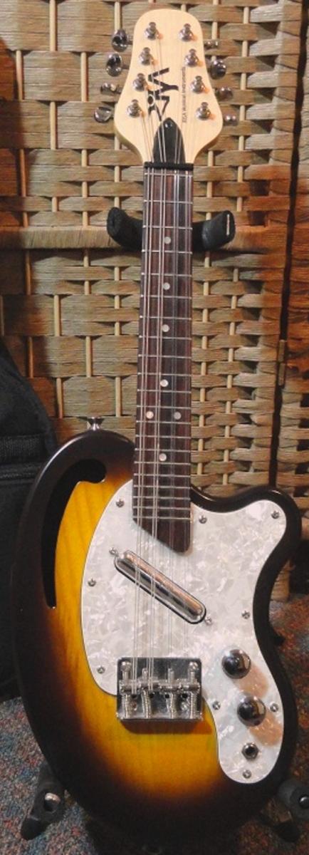 Risa soprano mandolin 8 string Bean at Lardys Ukulele Database
