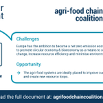 Image for the Tweet beginning: The agri-food systems will play