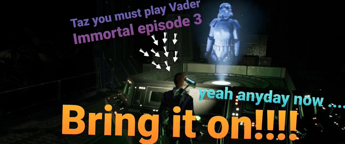 I have still got to try this on my Oculus Quest to finish off the series #VaderImmortal  episode 1 and 2 were brilliant  I must say I loved using the power of the force in episode 2.  Star Wars:Jedi Order is sheer brilliance too on #PS4  A must for Star Wars fans everywhere