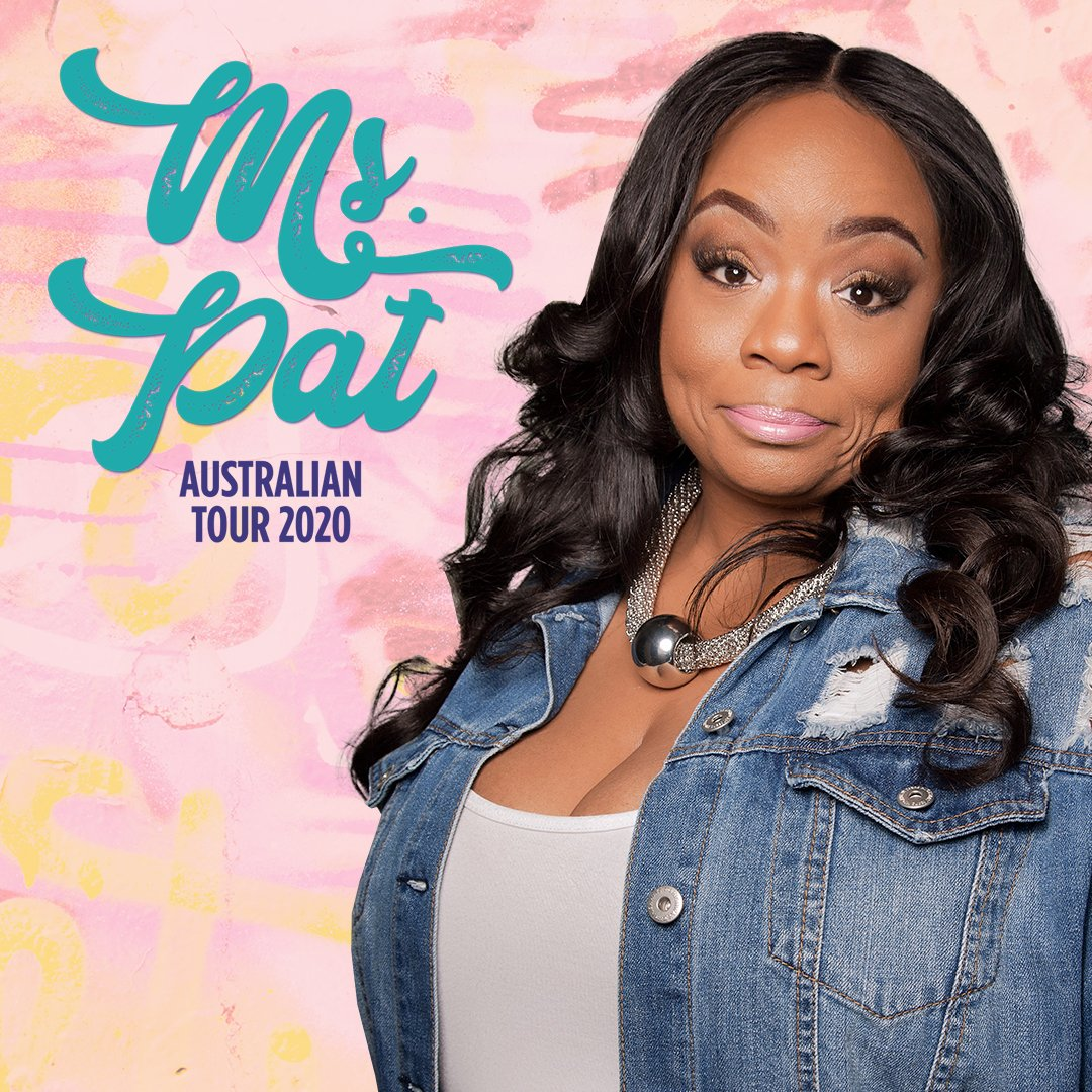 We're excited to announce the incredible Ms. Pat (@comediennemspat)! MELBOURNE: 17 April The Comic's Lounge SYDNEY: 21 April The Comedy Store   🎟️ Book Tickets @ https://t.co/1bOlEE7lxW https://t.co/0VXJTgC2on