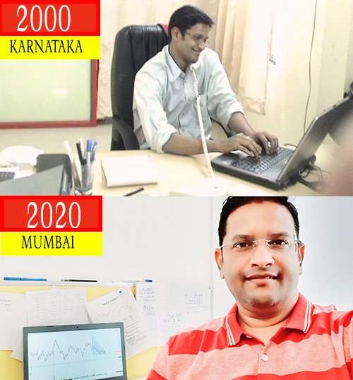 Its been Amazing 20 Yrs. of Journey in Business & Trading. Started with many mistakes, but learnt alot. All I know we cant be successful, if we dont have #GOAL-#VISION & #PAGALPAN. Trading is now my passion. Every loss teaches me new things to improve. Never afraid of losses.