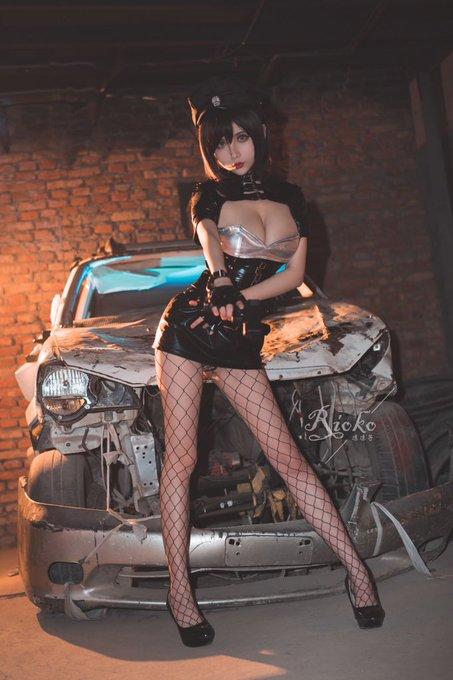 コスプレイヤーrioko凉凉子のTwitter自撮りエロ画像92