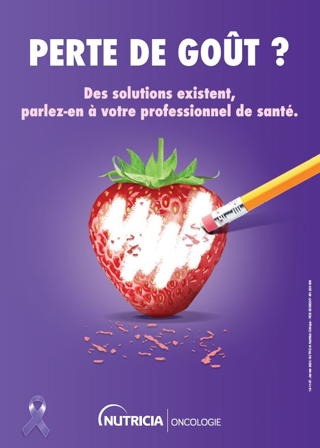 À l'occasion de la 20ème Journée Mondiale de Lutte Contre le Cancer, NUTRICIA s'engage pour sensibiliser professionnels de santé et patients à une problématique fréquente : la perte de goût.  #jemengage #worldcancerday #pertedegoût https://t.co/89YwAd2Br0