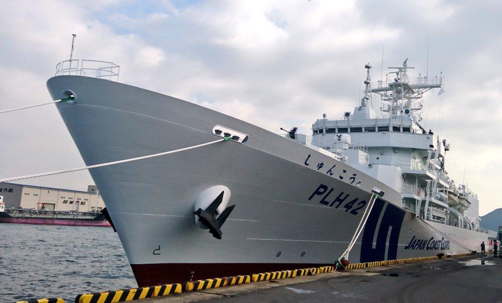"""たもたん على تويتر: """"ちゅーことで新型巡視船「しゅんこう」が""""竣工 ..."""