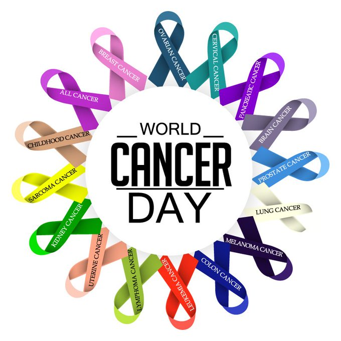 On World Cancer Day lets all unite and stand against cancer. Lets beat cancer together. #WorldCancerDay