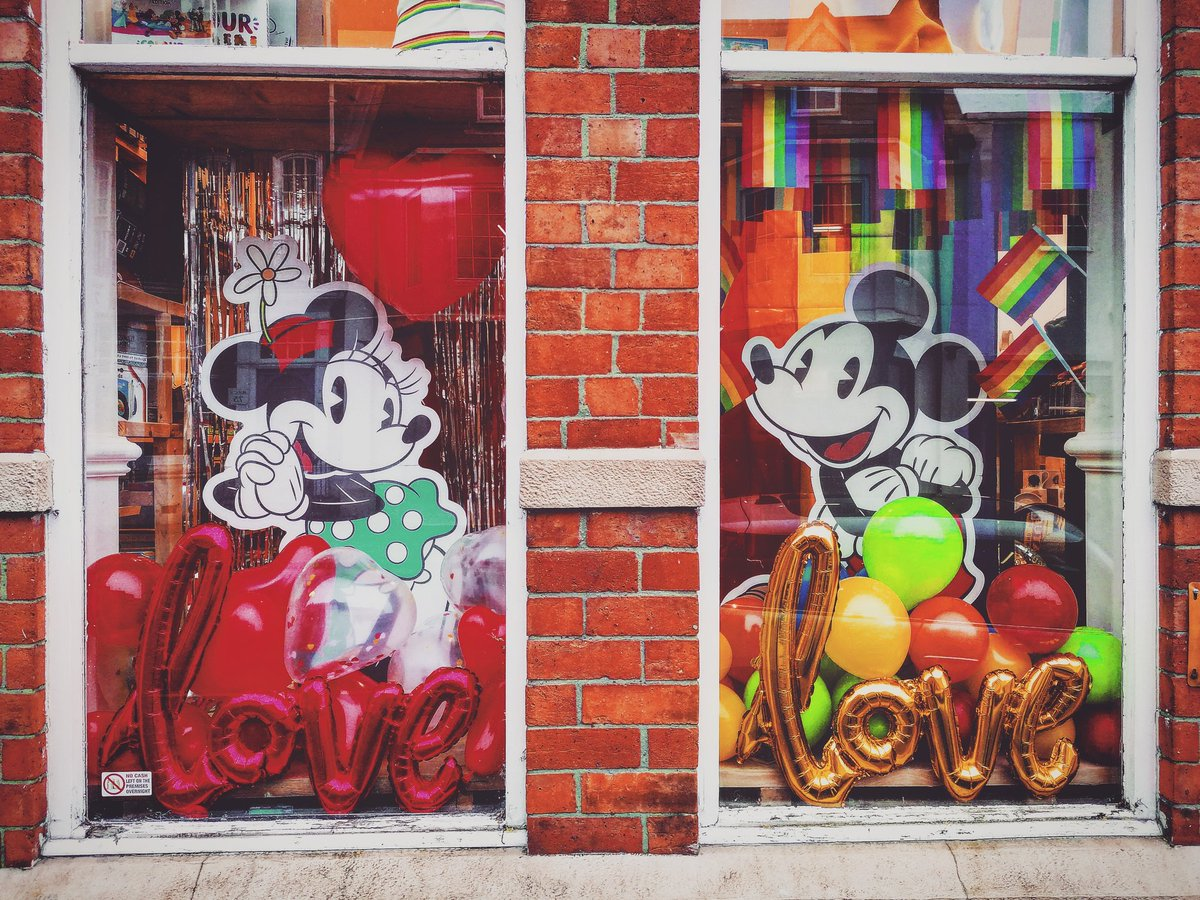 Our 2020 Valentines window display