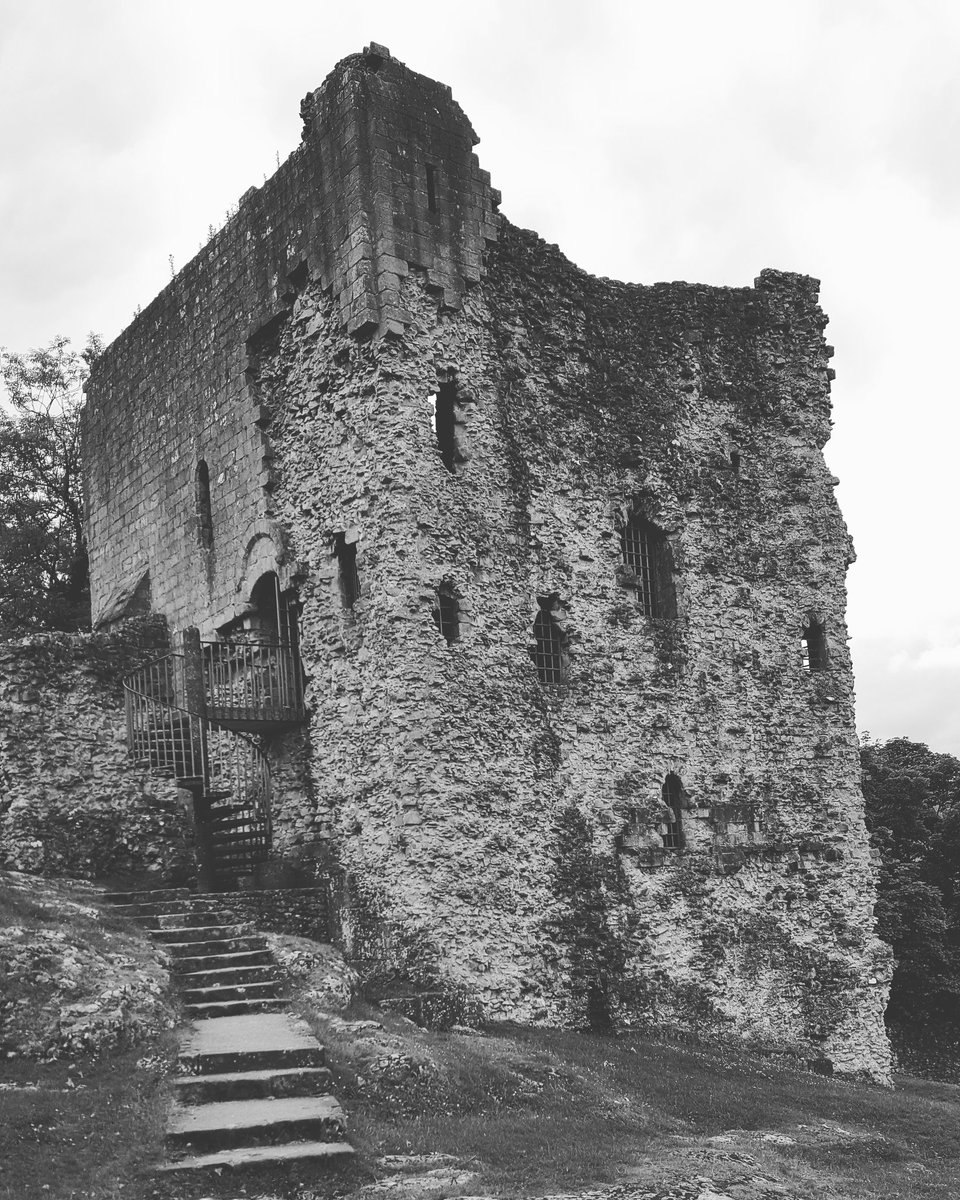 The great tower/keep of Peveril Castle, Derbyshire #castles