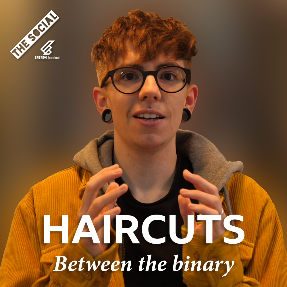The struggles of getting a haircut as a non-binary person.