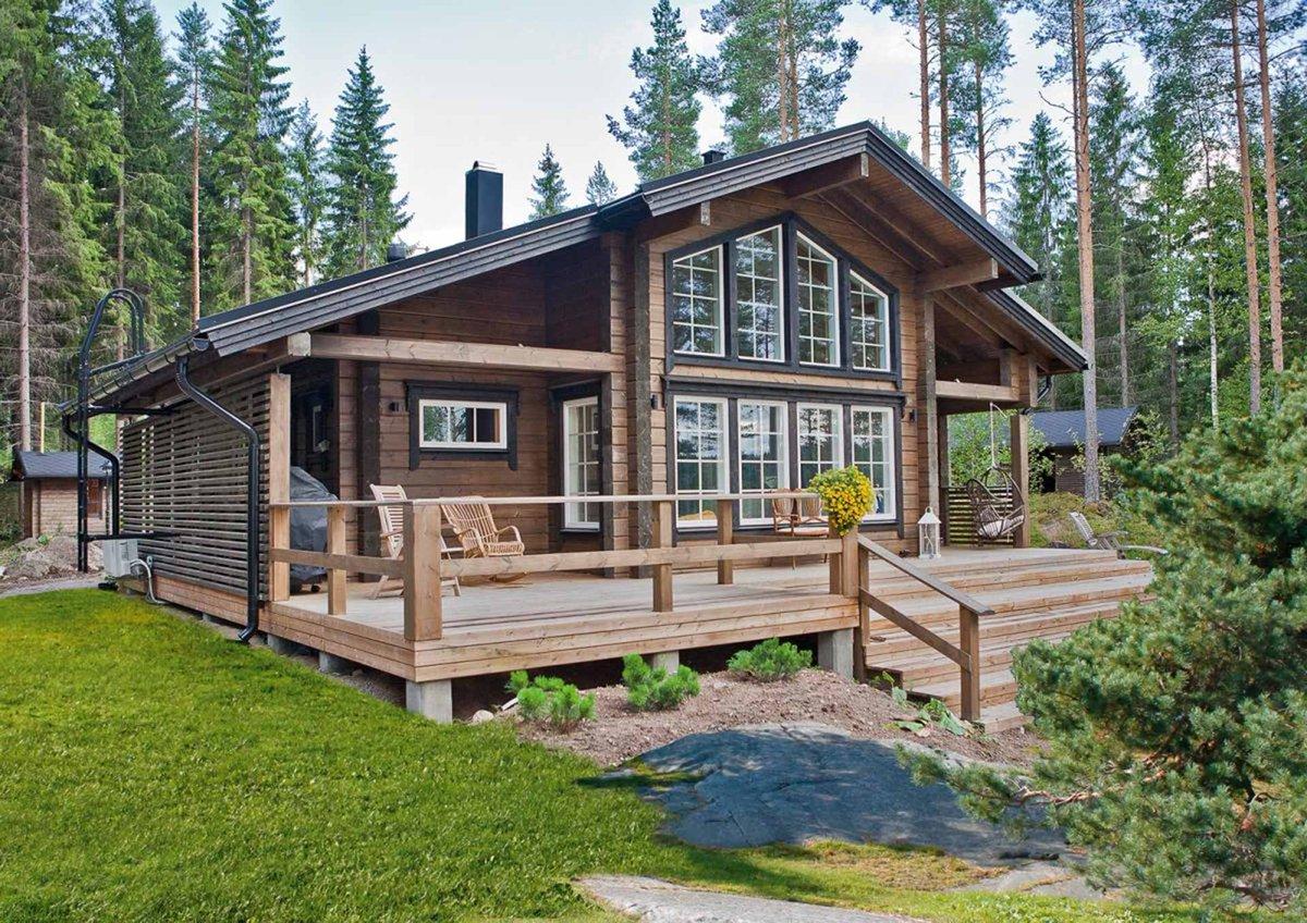 очень красивые финские дома фото проекты эти годы