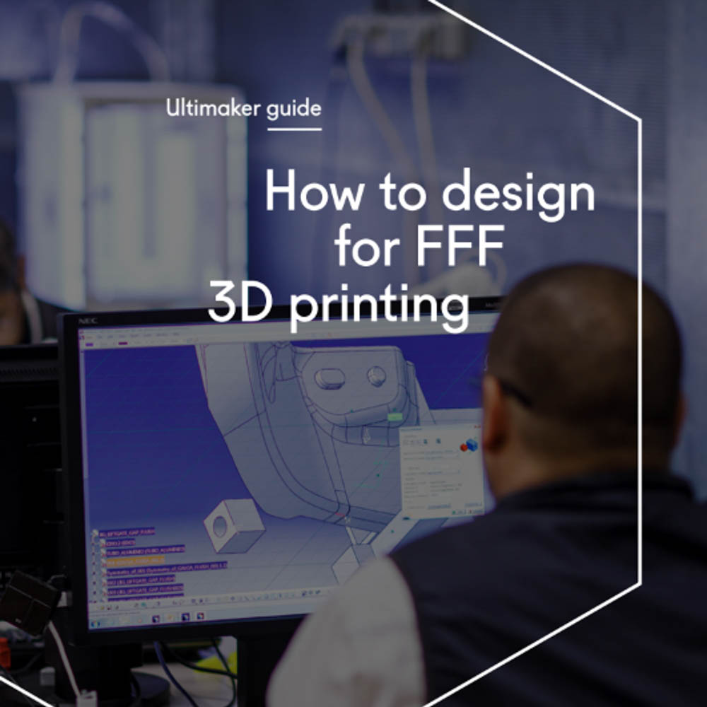 """Anything can be """"drawn"""" in 3D on a digital canvas, but not everything can be 3D printed. The knowledge in this guide will help you approach designing for FFF in a way that ensures the best results from your #3Dprinters and #3Dprintedparts. >>"""