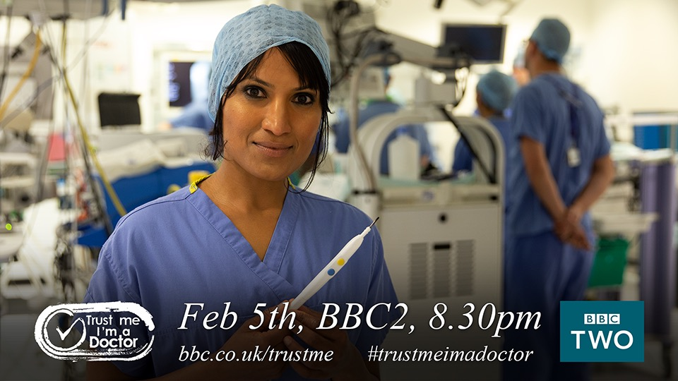 .@BBCTrustMe with @DrMichaelMosley is back on at 8.30pm tonight on @BBCTwo #trustmeimadoctor #BBC