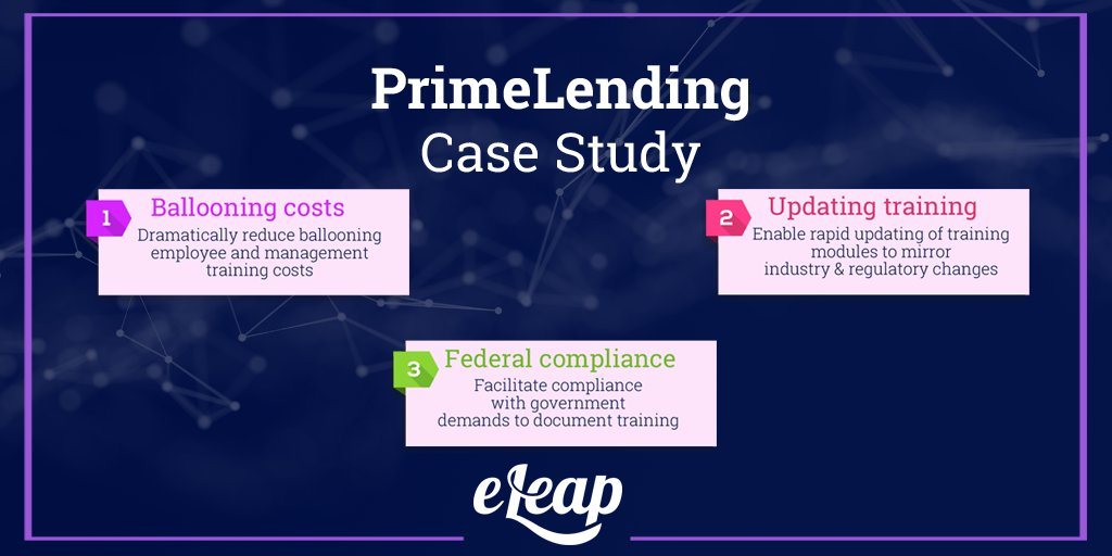test Twitter Media - Why would you need something like a Learning Management software? This Case Study from PrimeLending is just a living proof that we were able to cut down costs, save time and solve their problems. 🧐  👉🏻 https://t.co/q3QWeUazig👈🏻 * * * #casestudy #moneysaver #company https://t.co/tKZak1mq8k
