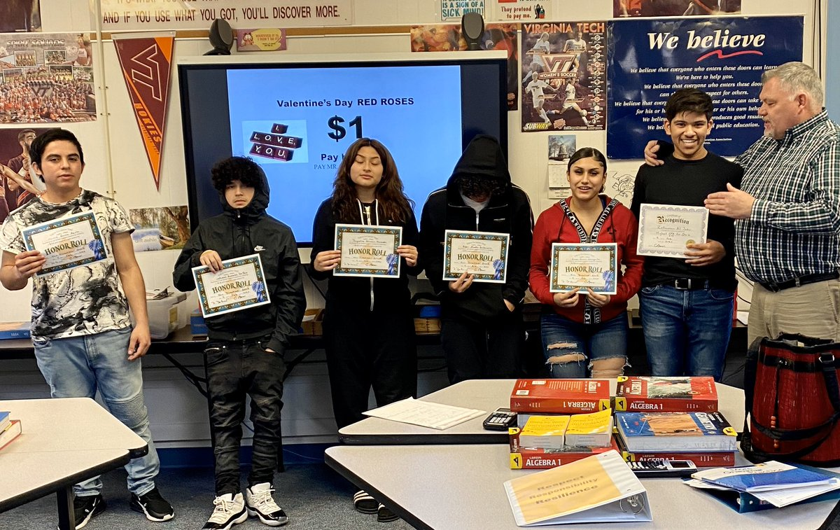 Congratulations Honor Roll Students. Your hard work paid off. Let's keep it going 3rd quarter. <a target='_blank' href='https://t.co/O7qP53IkEJ'>https://t.co/O7qP53IkEJ</a>