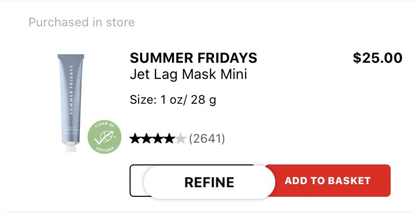 @summerfridays  i love this. apply it after my usual nighttime routine and wake up hella moisturizer and plump (maybe 1-2x a week)! 😍
