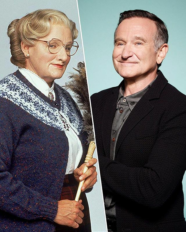 Did you know? 🤔 Actor #RobinWilliams' own young son, Zak, didn't recognize his father when he was in his #MrsDoubtfire (1993) makeup and costume until he actually spoke to him directly. ⁣ ⁣ According to reports, the makeup took around 4 and a half ho… https://t.co/ws9A9qkLQt https://t.co/ukGhGYQ3xa