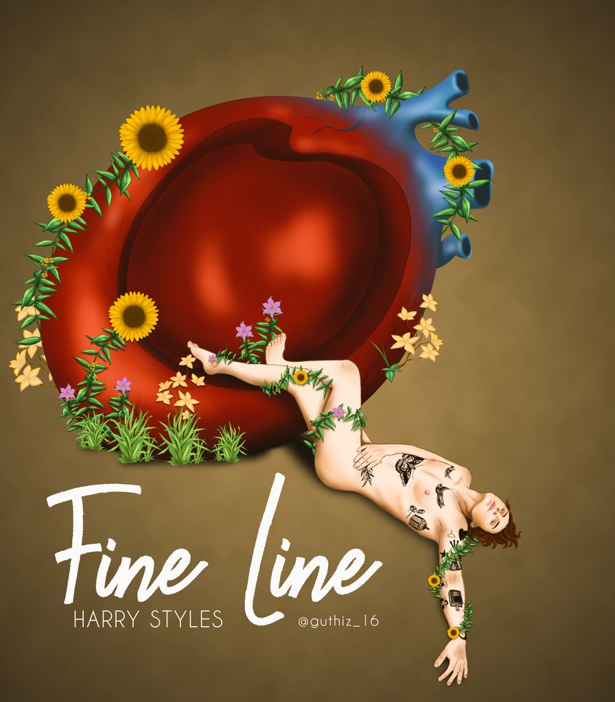 FINE LINE  HAPPY BIRTHDAY (atrasado) I Love You
