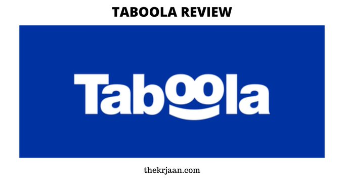 Taboola Review | What Is Taboola , Price & Features
