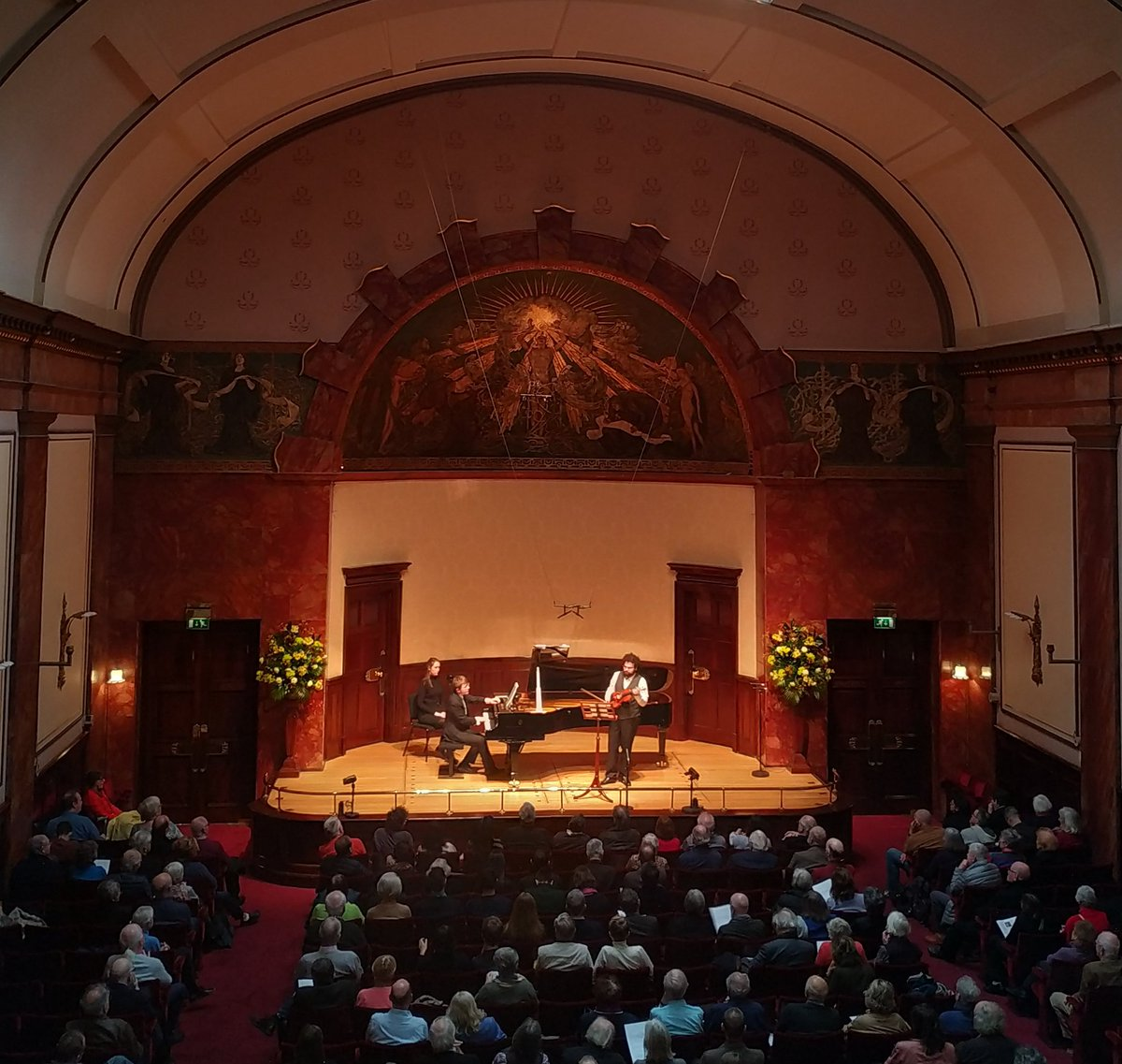 Fantastic first lunchtime concert of 2020 @wigmore_hall by @KadeshaViolin & @FilippoGorini
