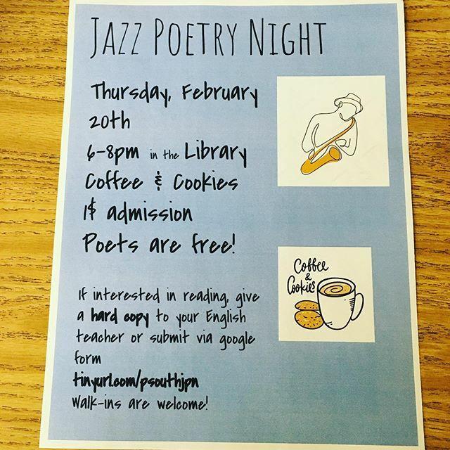 Calling all poets! Mark your calendars for February 20 🎶 🎷 ✏️ ift.tt/3bdECB5