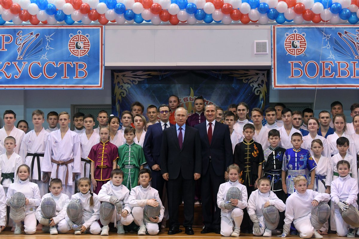 Visit to the Martial Arts Centre in #Cherepovets: http://bit.ly/31rqSOY pic.twitter.com/y4loTgx9Qw
