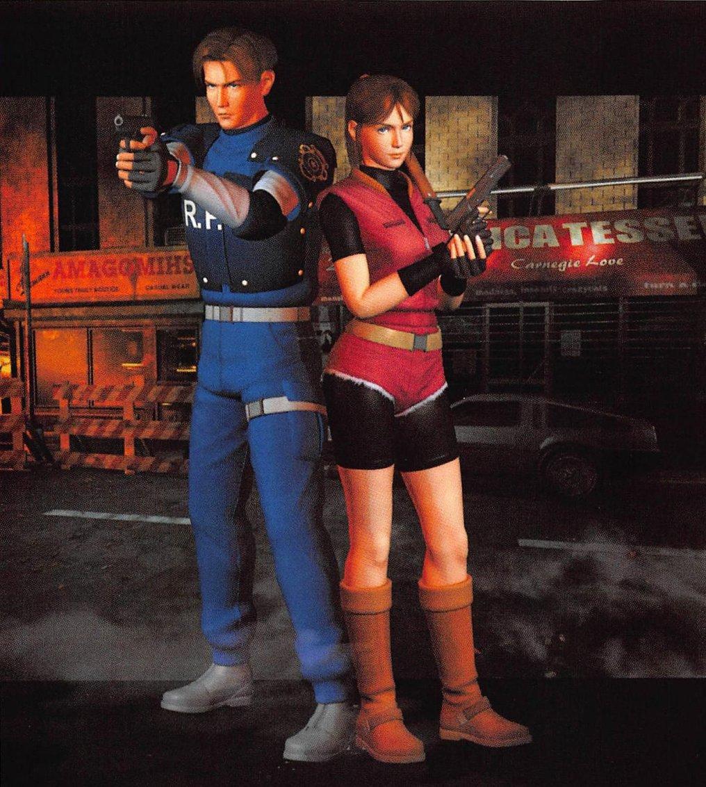 Nba Jam The Book On Twitter 1998 Promo Art For Resident Evil 2