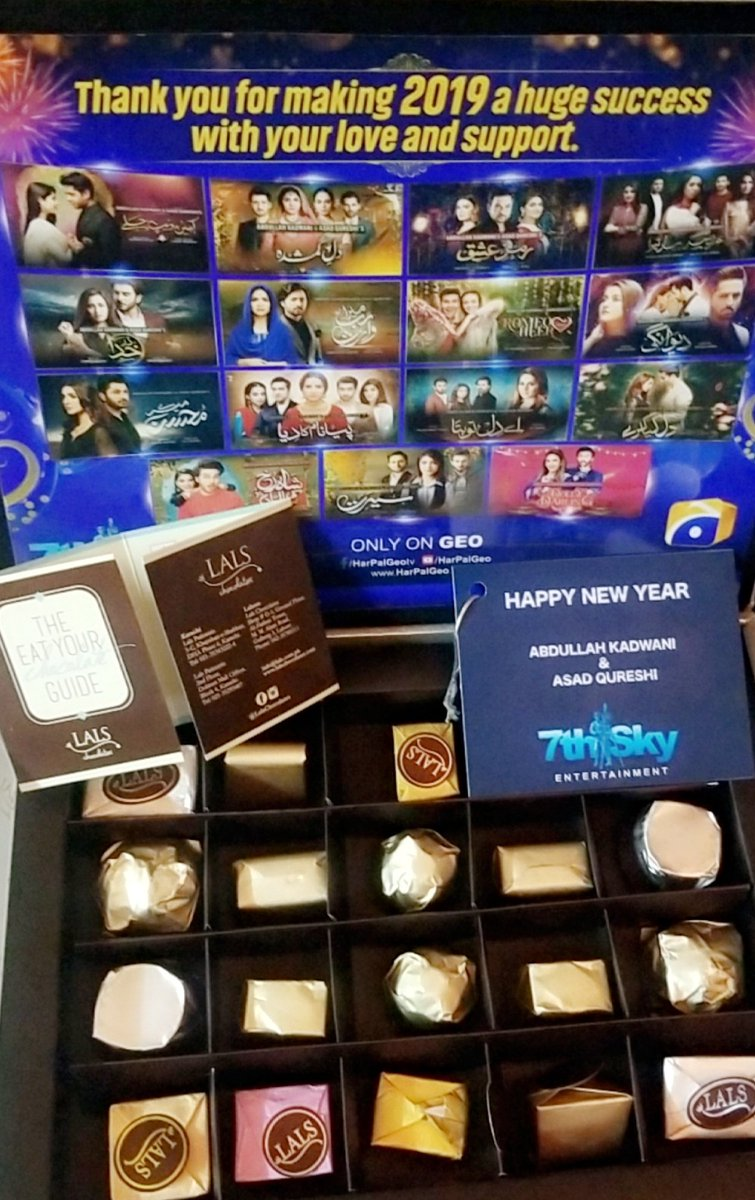 Thankyou @7thSkyEnt For Delicious Chocolate's pic.twitter.com/9MbvLNh0Db