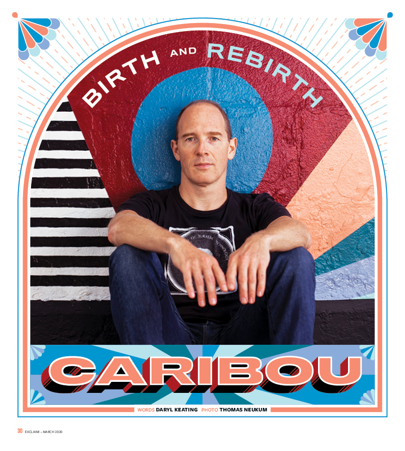 Caribou's recent life has been filled with changes: the birth of his daughter in the back seat of a car, and a burst of productivity resulting in 900 tracks (culled into an album with the help of Four Tet).  Learn about them all in our latest cover story: