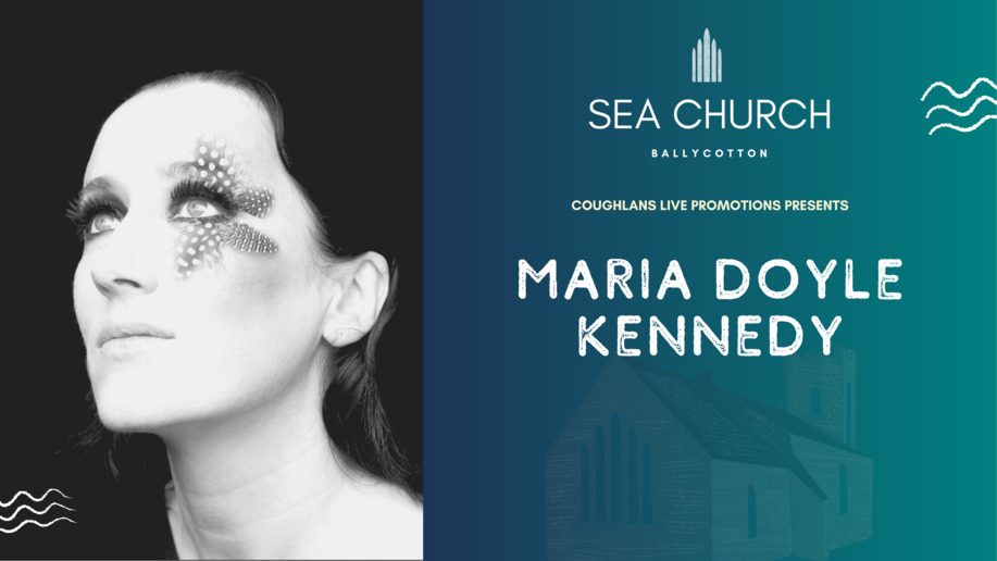 On Sat 25th April we welcome  @mariadkennedy to Sea Church,  a new bespoke venue in Ballycotton, East Cork.  Tickets:   #TakeMeToChurch