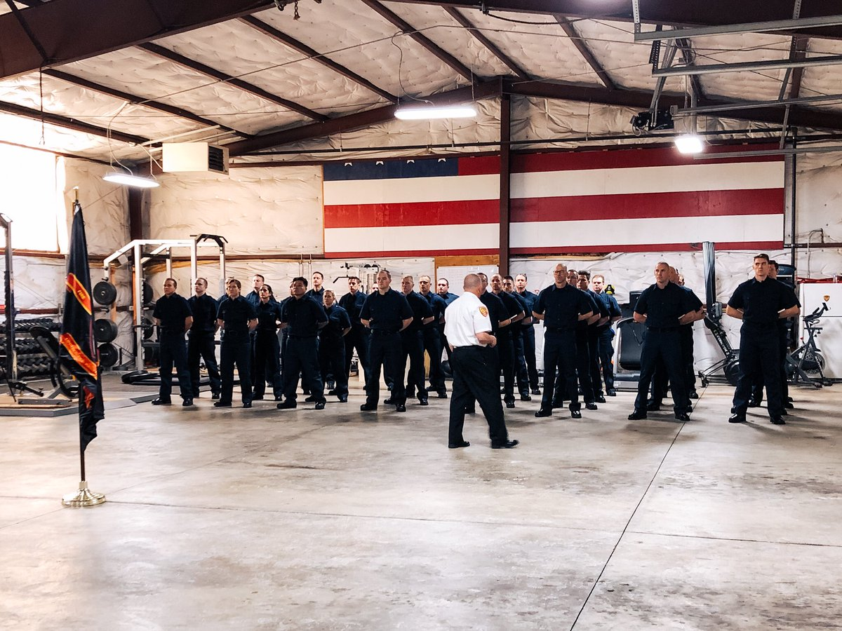 Good luck to our 33 new recruits! #unifiedfire #recruitclass53 #dayone