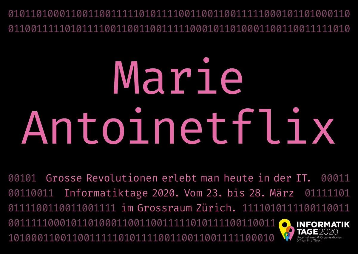 HERE WE GO! Die neue Kampagne der #ITTage20  • • https://informatiktage.ch •  #ITTage20 #informatik #it #zurich #digital #technic #event #technology #school #SmartCityZürich #kampagnepic.twitter.com/0lsNor6YkT