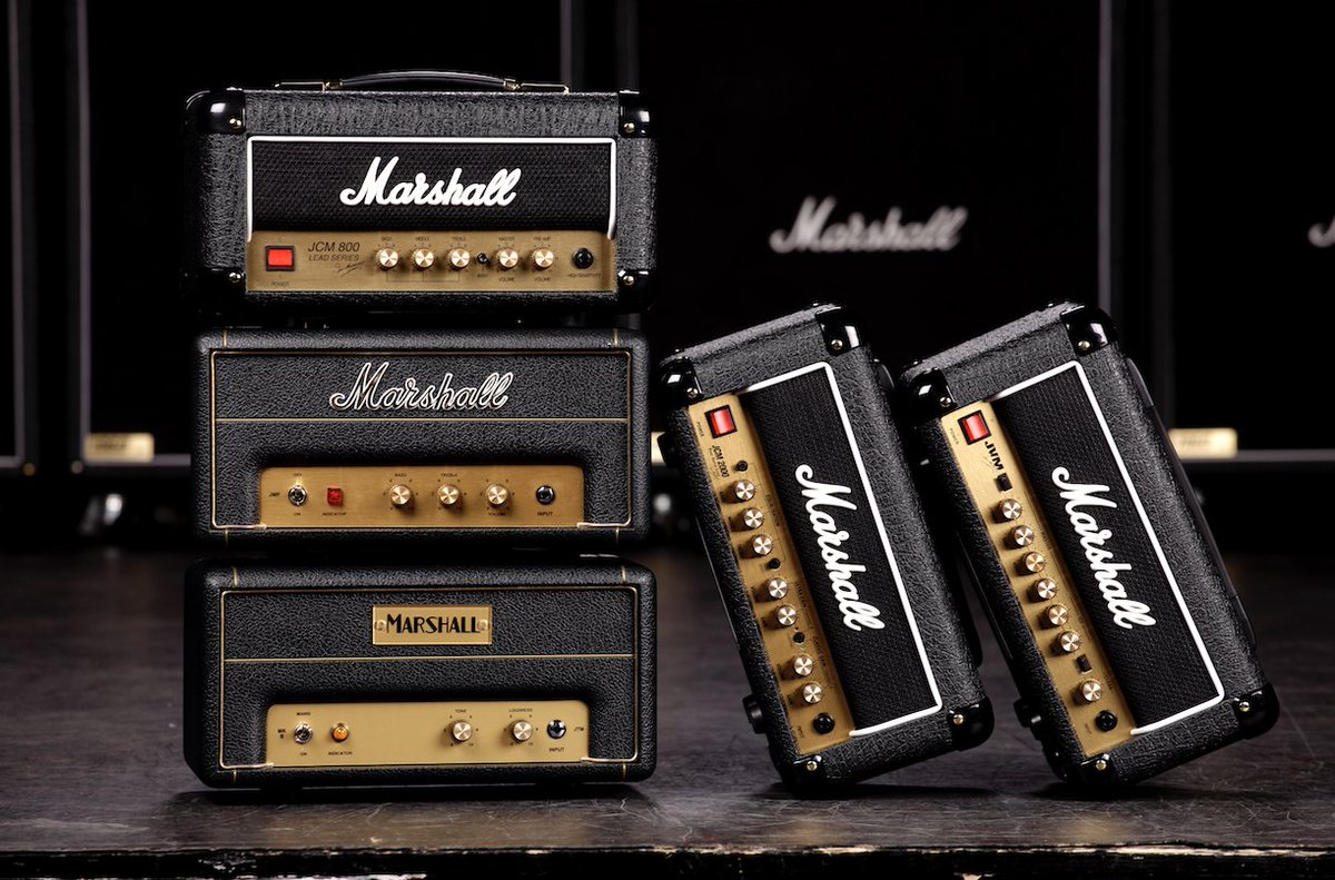 From the archive: The limited edition 50th anniversary 1-watt heads 😍#liveformusic