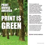 Image for the Tweet beginning: Komori America loves the Print