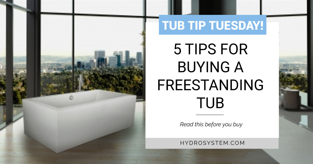 5 Tips for buying a freestanding tub. 1. Determine Size  2. Choose Your Style  3. Select Material  4. Choose configuration thermal air or soaking tub. 5. Customize w/ Options  #bathtubgoals #bathroom #freestandingtub #bathtub #interiordesign #bathroomdesign #bathroomdesignpic.twitter.com/bwF5TaXYi6