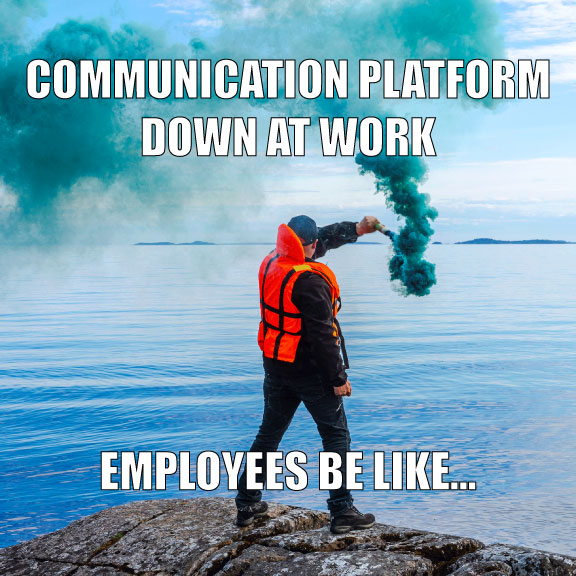 Teams can't operate without an easy, functional way to #communicate and share data. What happens if the platform you rely on goes down? Don't risk your #efficiency. Our Enterprise Operating System provides consistent, streamlined #collaboration features. https://t.co/1WixxYnwrk https://t.co/sBz97gDcIa