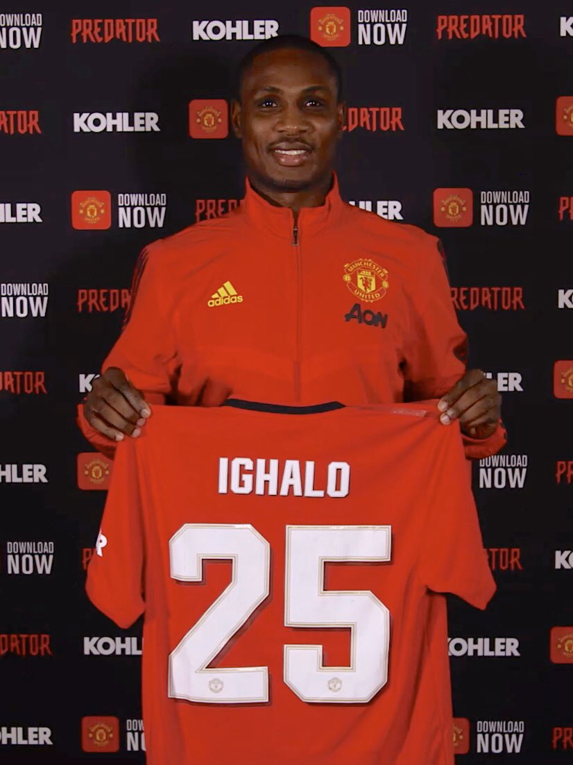 Here he is! 🇳🇬 First interview with @IghaloJude as an #MUFC player, coming soon... Watch this space 👀