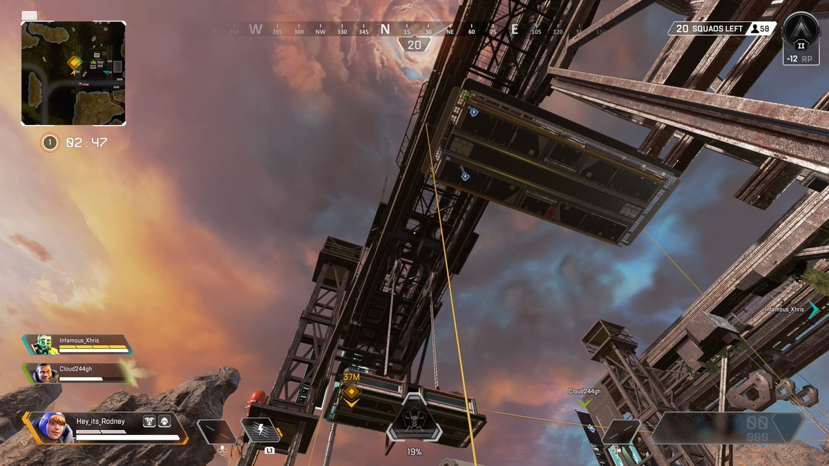 """Rodney Reece on Twitter: """"There are lots of map tweaks to World's Edge. One  of the smaller one is there are ziplines to the cars in Train Yard… """""""