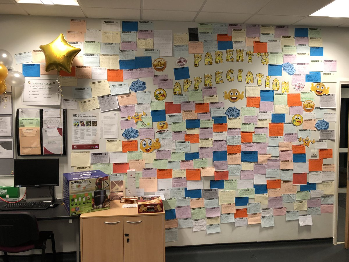 As part of our Staff Appreciation Week we asked parents to send in Thank You slips for all staff across the school and just look at the amazing response... #BestSchoolYearEver #LifeAtOsborne https://t.co/JhH8iU20g3