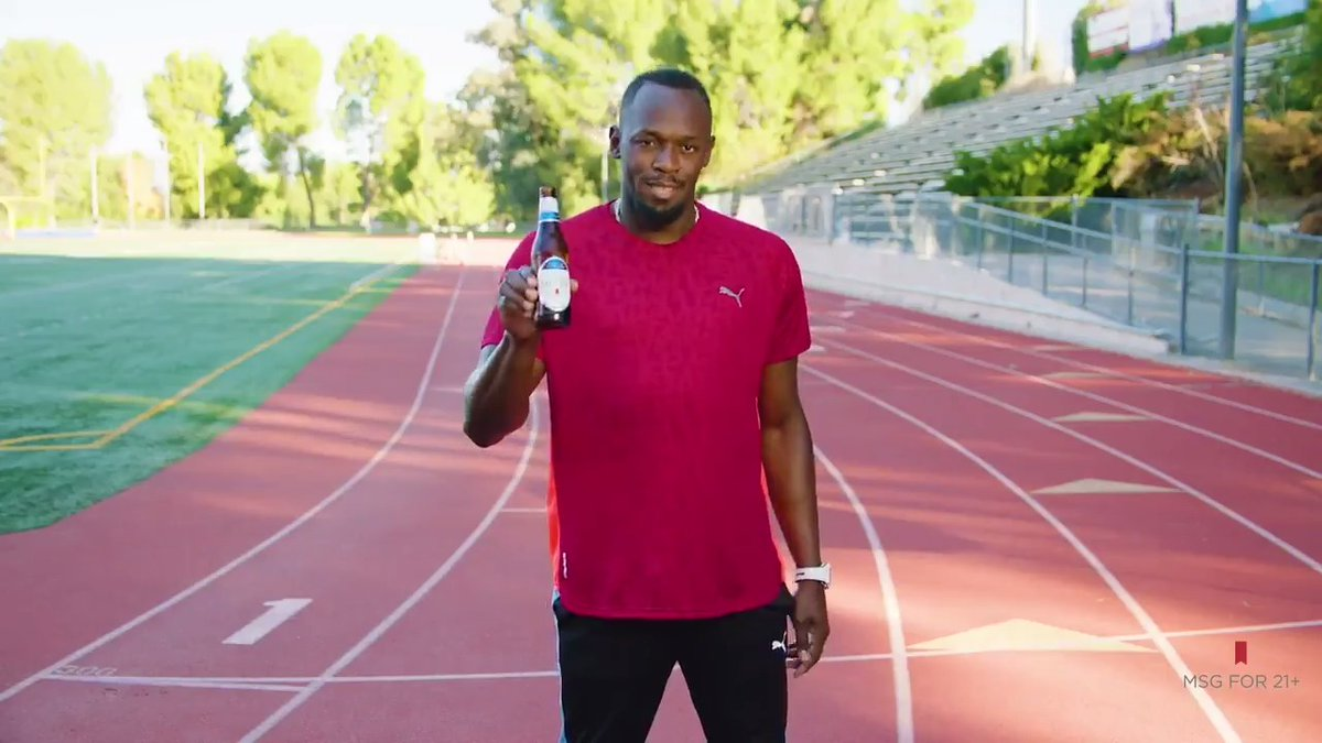It's cool if you can't keep up with @UsainBolt, but head over to http://TeamULTRA.com  FAST to join him on the squad, and for a chance at a year-long endorsement deal.  #DoItForTheCheers #TeamULTRAContest