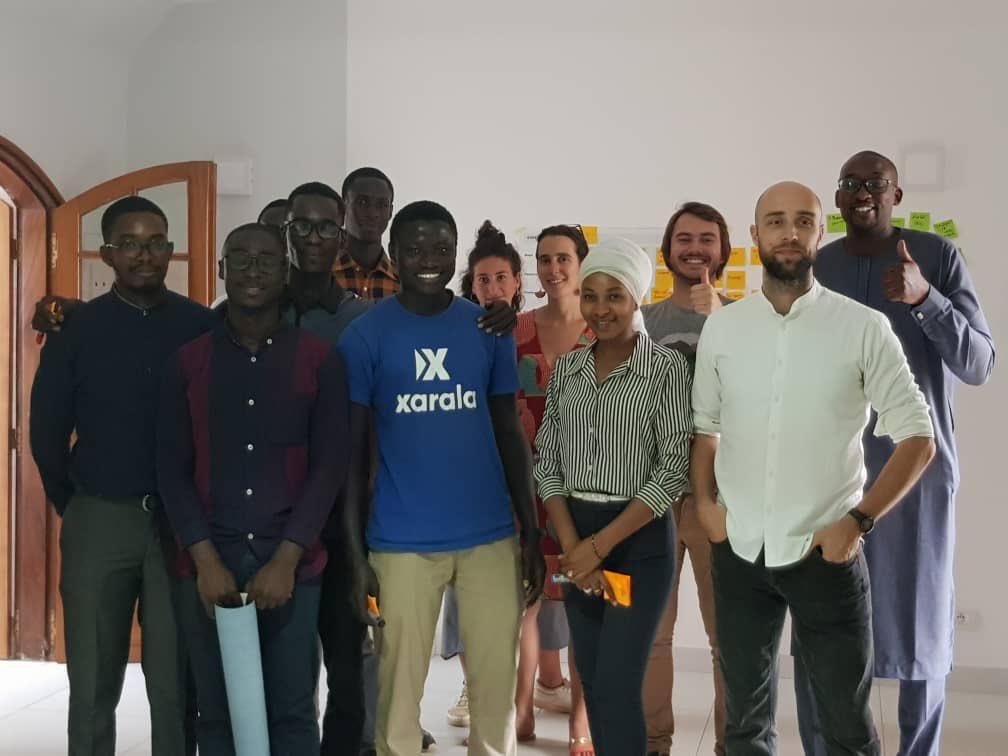 Human Centered Design session at @InnovHouseDakar powered by @helloyux !.@dersenegal acceleration program for 26 startups at #iH