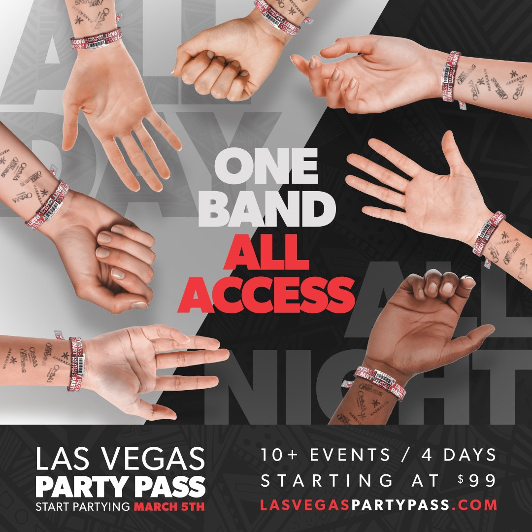 Introducing the Las Vegas Party Pass! Enjoy access to 10+ events at @HakkasanLV, @omnianightclub & @wetrepublic starting at just $99🔥 Learn more at lasvegaspartypass.com