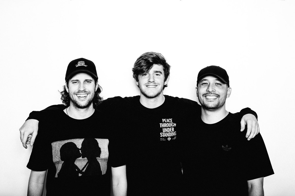 These guys and I wouldn't be where we are today without each other! It has been 4 years since we last released music together so needless to say we are extremely excited for FEELING GUD this Friday! I hope everyone loves it as much as we do!