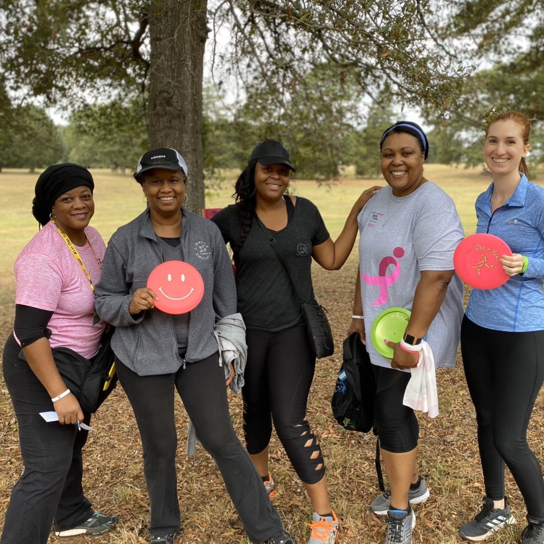 disc golf girls