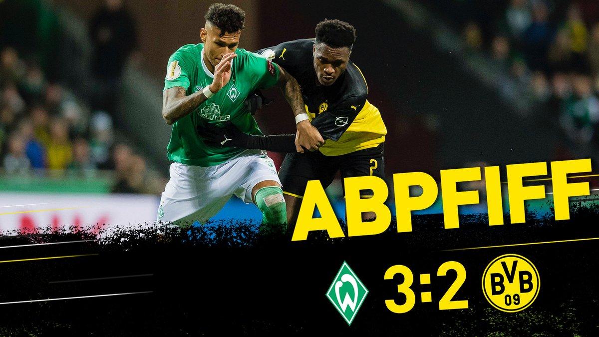 Werder Bremen 3-2 Dortmund, 05/02/2020