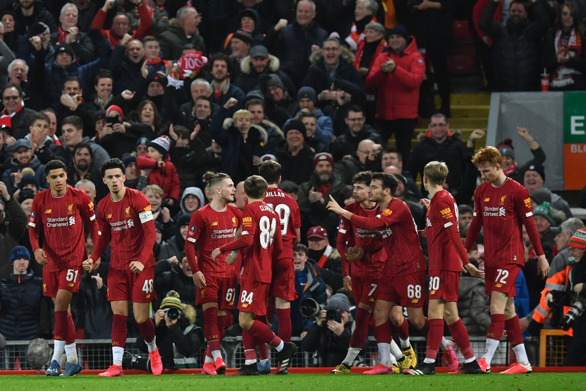 Liverpool vs Shrewsbury Highlights, 05/02/2020