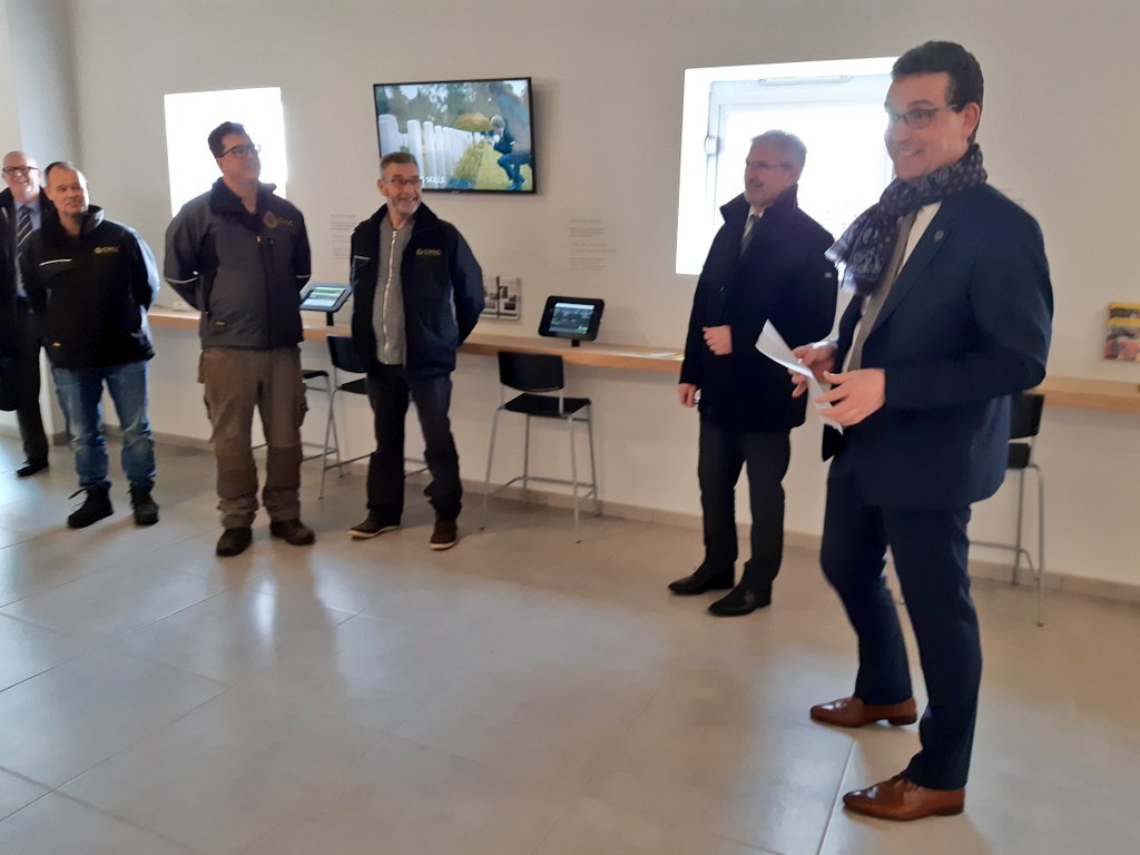(2/2) Many thanks to @PuppinckX for the wonderful #welkomstwoord and to @BalinLucie and Jim for the great guided tours! #hartstikkeleuk #hartelijkdank https://t.co/7XpHetLaw4