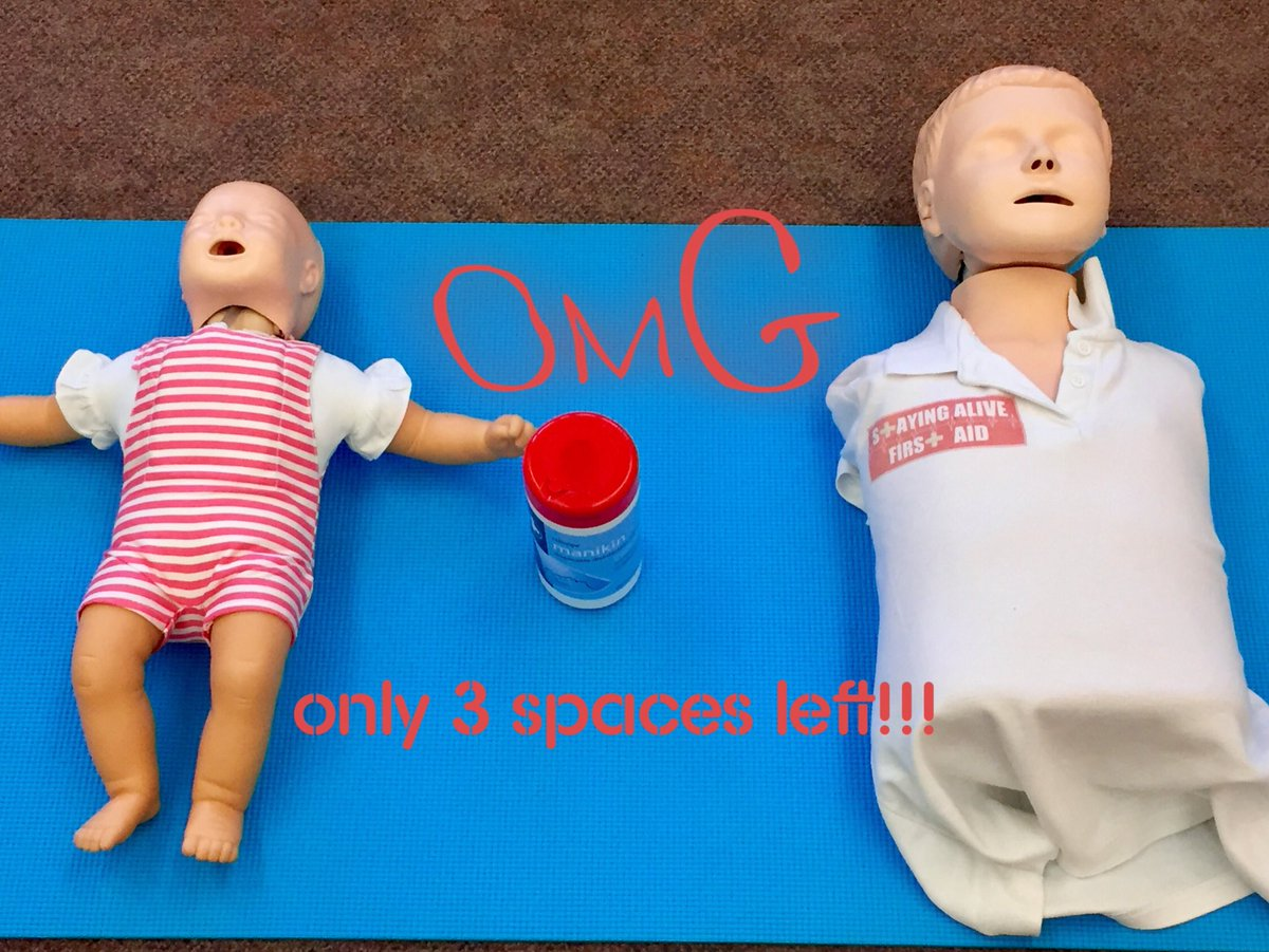 Only 3 spaces for Chislehurst Parent & Grandparent First Aid 7th March http://www.stayingalivefirstaid.org  #chislehurst #stayingalive #babyfirstaid pic.twitter.com/2EPHulrkTC