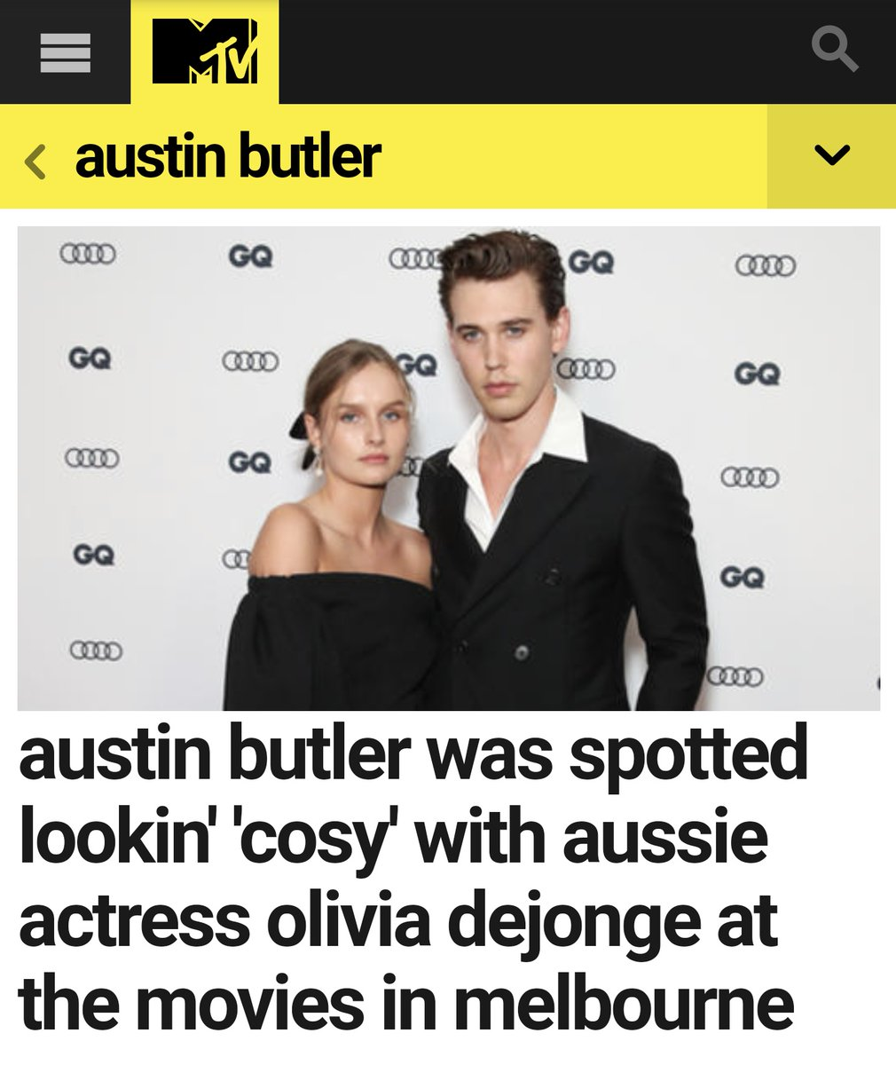 Apparently Austin Butler cheated on Vanessa Hudgens with Olivia DeJonge, and now Vanessa is dating Lakers' Kyle Kuzma I-