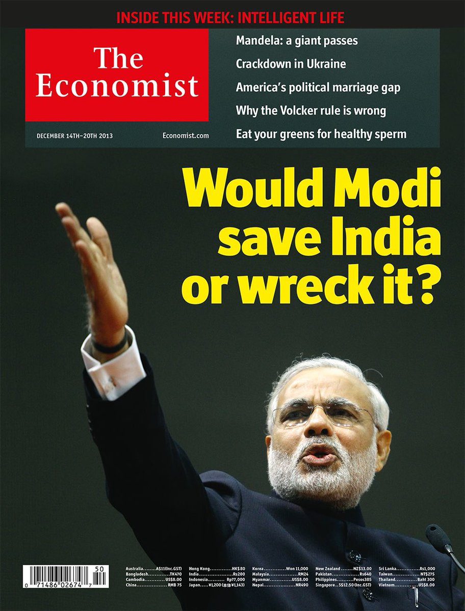 In 2013 The Economist asked a question that six years later they answered themselves.